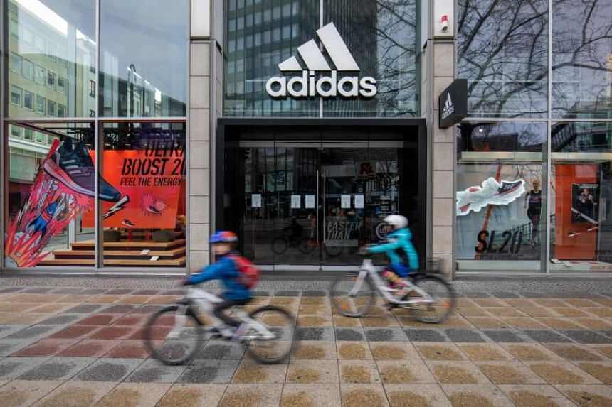 "German sportswear maker Adidas told DPA news agency that it was ""temporarily suspending rental payments, just like many other companies""."