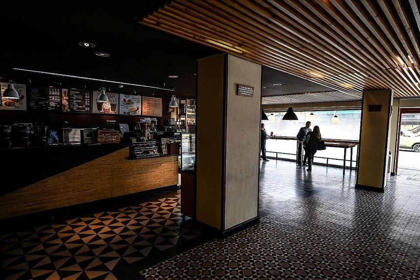 A coffee shop in Bogota, Colombia. The country, a major coffee exporter, is in the midst of a 19-day national quarantine to help curb the spread of Covid-19. PHOTO: AGENCE FRANCE-PRESSE