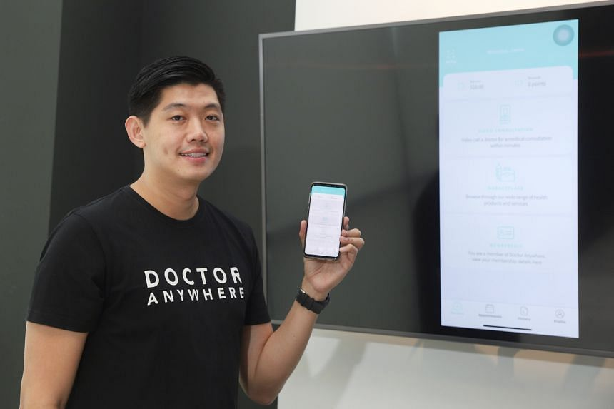 Doctor Anywhere founder and chief executive Lim Wai Mun said that that the number of users on the platform has more than doubled since the end of January.
