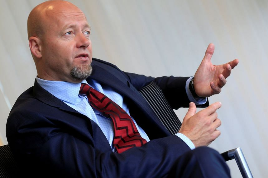 """Yngve Slyngstad, chief executive of Norway's sovereign wealth fund, has already said cash flow this year will be """"significantly lower"""" than previously expected."""
