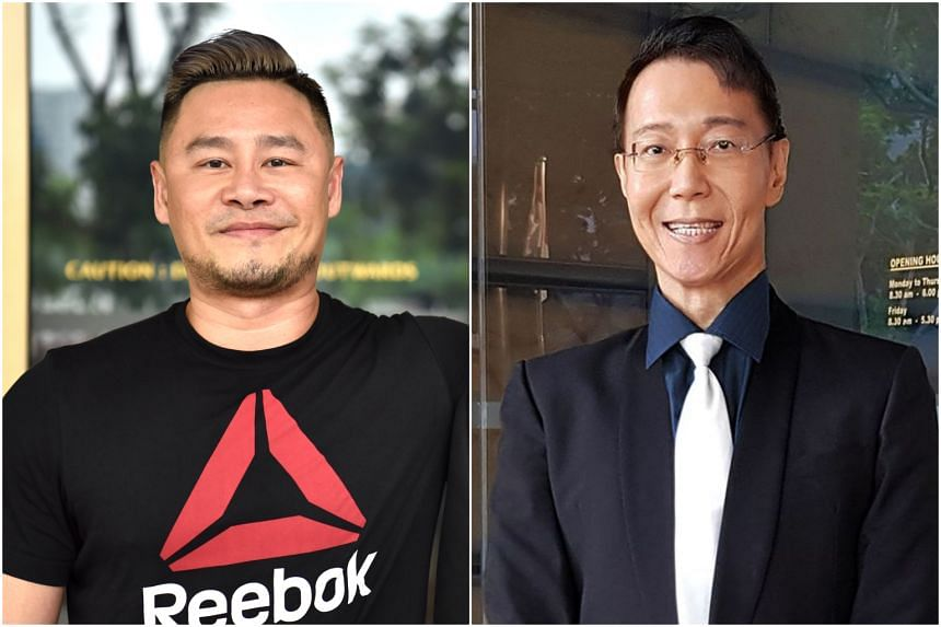 Lawyers representing Mr Johnson Ong Ming (left) and Dr Roy Tan said they had filed appeals in the Court of Appeal.