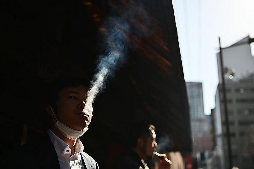 """Tokyo starts enforcing today a smoking ban in restaurants and bars. The ban applies only to traditional cigarettes, not """"heat not burn"""" devices for which Japan is the world's biggest market."""