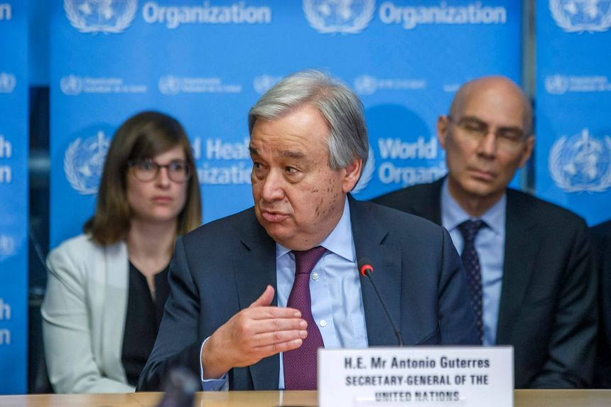 United Nations  chief calls for joint action to fight Covid-19