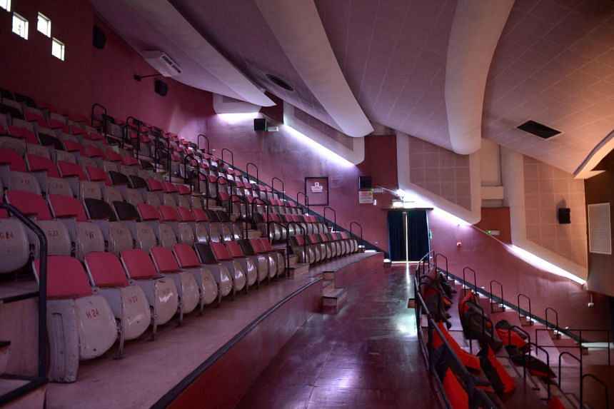 A view of one of the theatres at The Projector.