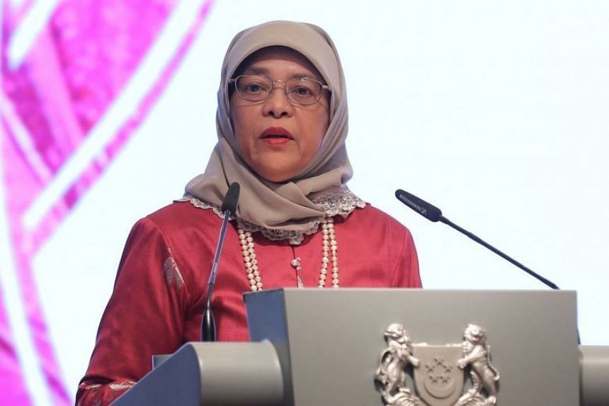 The heads of state, which includes President Halimah, pressed for a global solution to the pandemic.