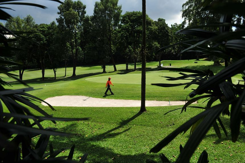 A view of the Singapore Island Country Club (SICC) Bukit course off Lornie Road taken on May 6, 2010.