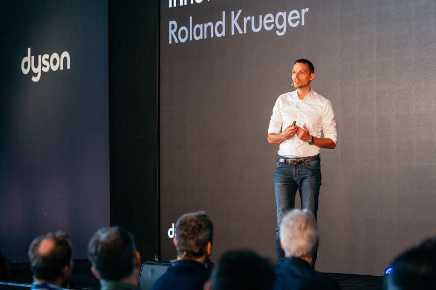Mr Roland Krueger takes over as Dyson's chief executive with immediate effect.
