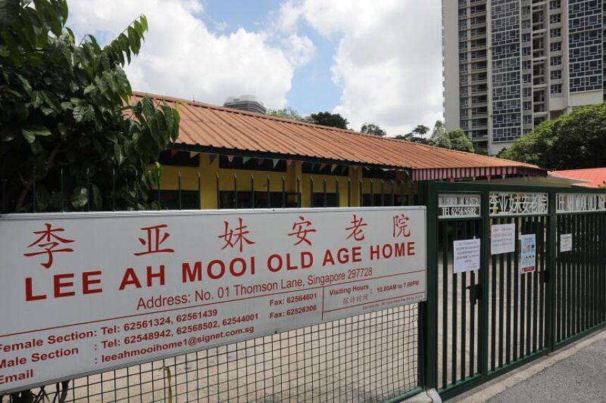 Lee Ah Mooi Old Age Home at 1 Thomson Lane.
