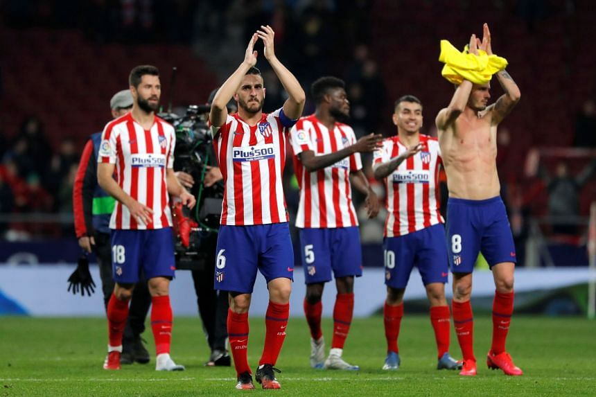Atletico Madrid Players Accept 70 Per Cent Pay Cut Amid Coronavirus Crisis