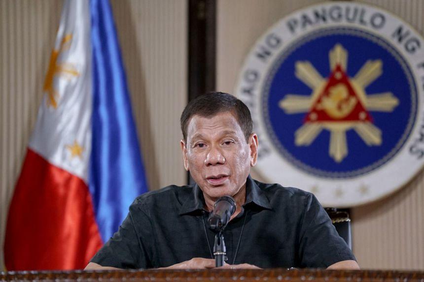 Philippine President Rodrigo Duterte said it was vital that everyone follows home quarantine measures.