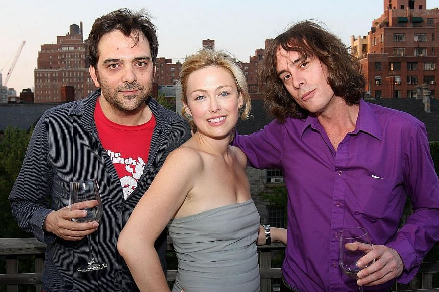 Andrew Jack is best known as the dialect coach for movies such as The Lord Of The Rings film series. (From left) Fountains Of Wayne bassist Adam Schlesinger with actress Kathryn Tucker and guitarist Jody Porter in 2008. Schlesinger wrote the theme so