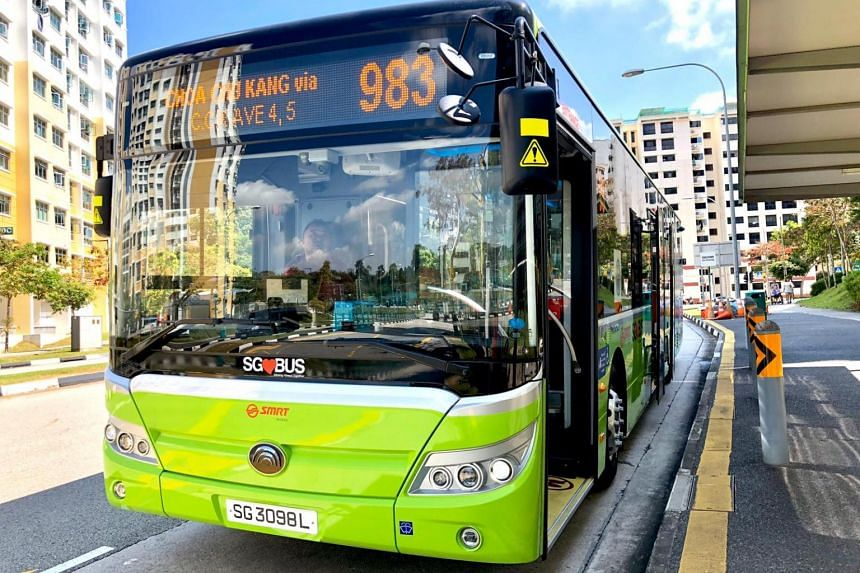 The Land Transport Authority said that when fully deployed, the buses will save close to 8,000 tonnes of carbon dioxide a year.