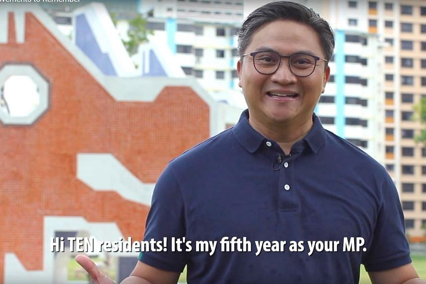 Bishan-Toa Payoh GRC MP Saktiandi Supaat shared a Youtube video where he takes residents through estate improvements made in his ward during the last five years.