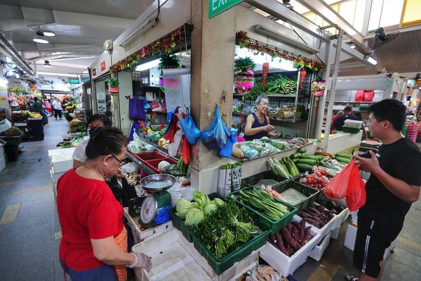 Wet markets will remain open, along with other food services.