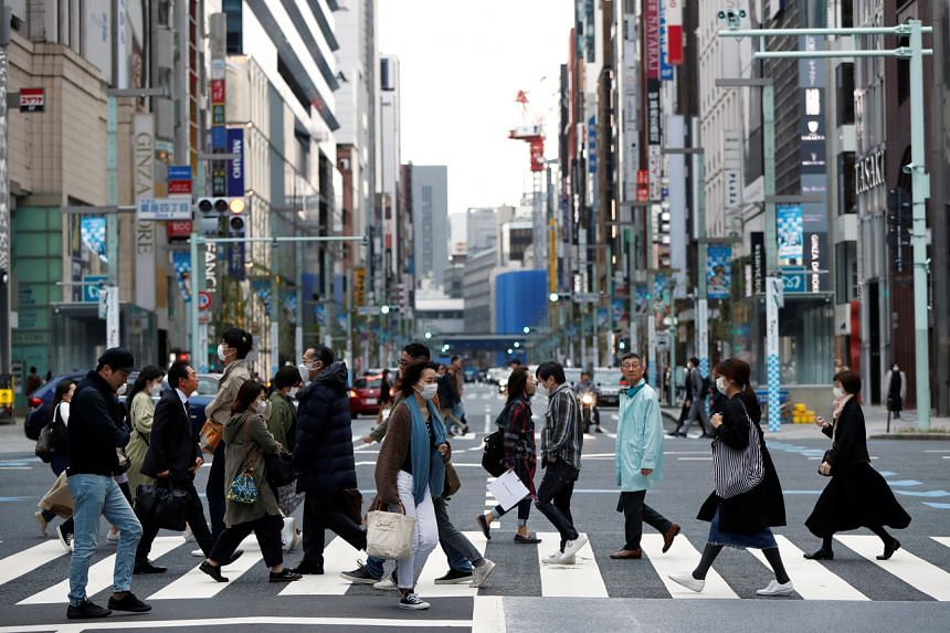 Tokyo's metropolitan government has strongly urged people to stay at home at the weekend.