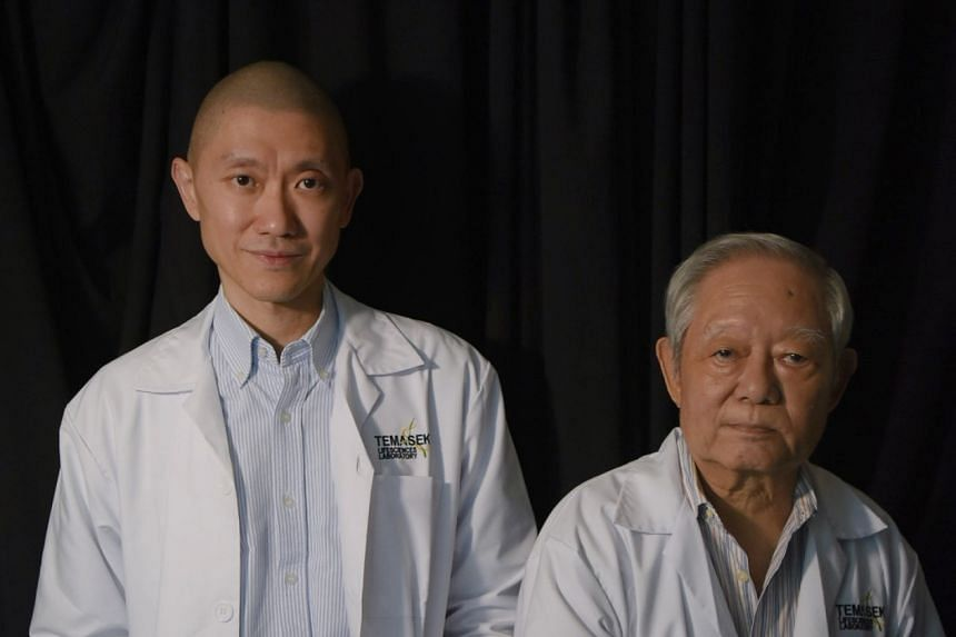 Dr Ian Cheong with Professor Chan Soh Ha, a leading medical pioneer in the field of nasopharyngeal cancer with 40 years of experience.