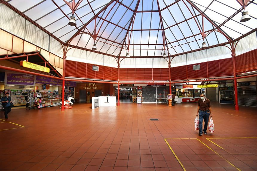 Adelaide's Central Market looked deserted on Thursday as Australia and other countries around the world imposed social distancing measures and restrictions on people's movement to keep the virus at bay.