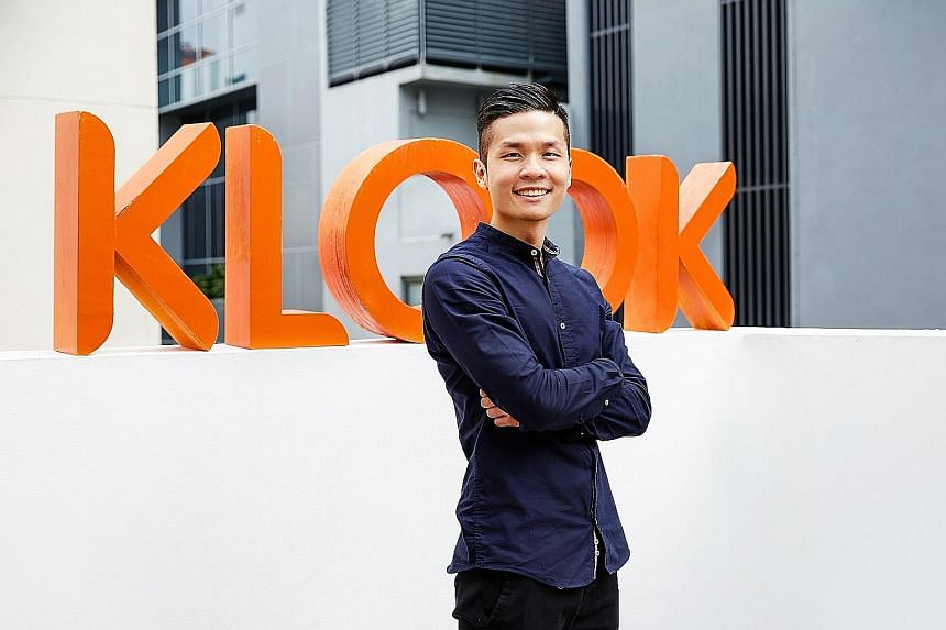 Travel activities and services booking platform Klook is partnering start-ups to make it convenient for customers to order out and eat in. Vice-president of marketing (Apac) Marcus Yong (above) says this pandemic has given the company avenues to think out