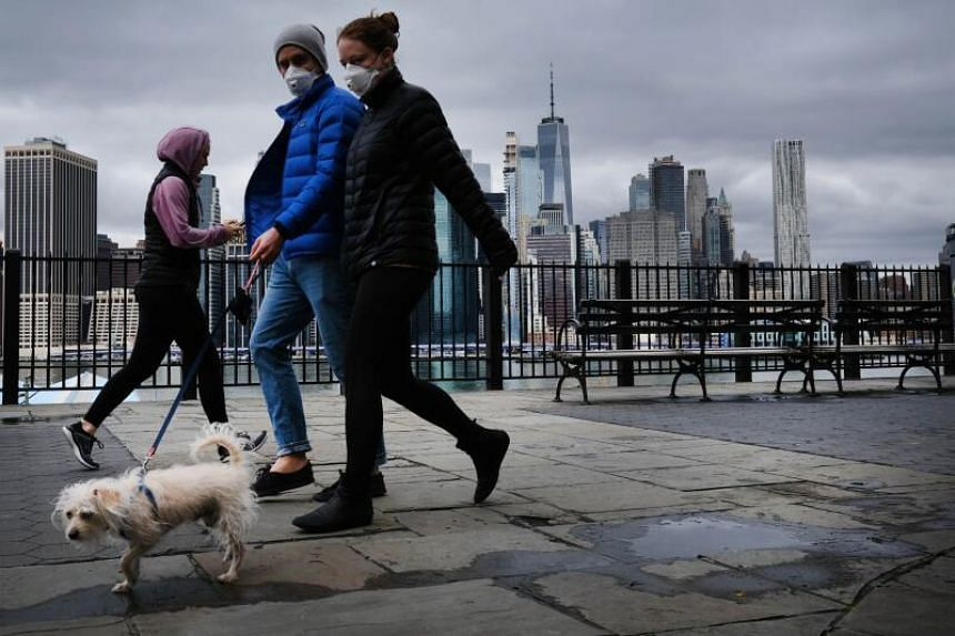 Experts say New York might be around a week away from the worst point in the health crisis.