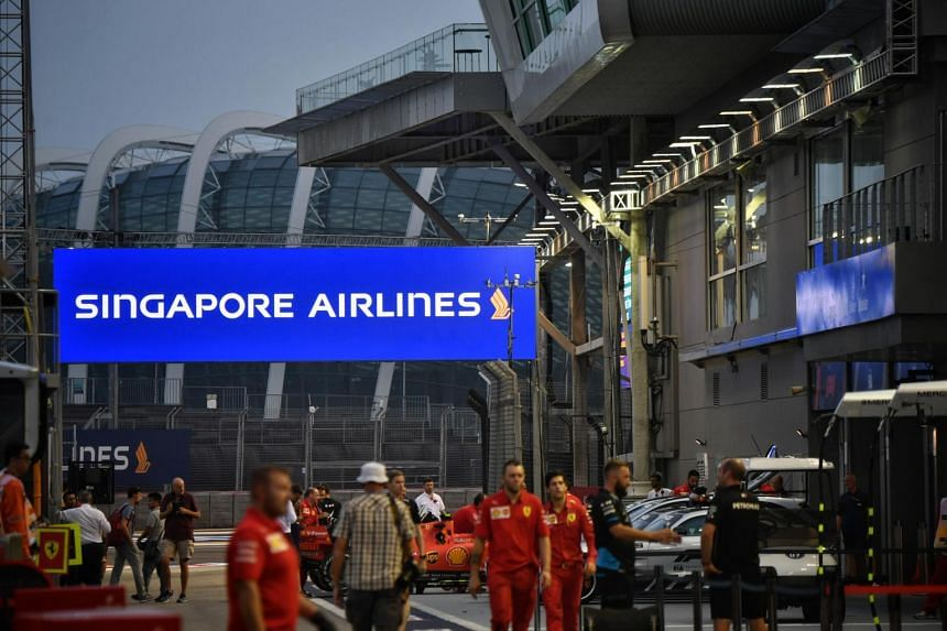 Singapore Airlines has backed the Singapore Grand Prix since 2014.