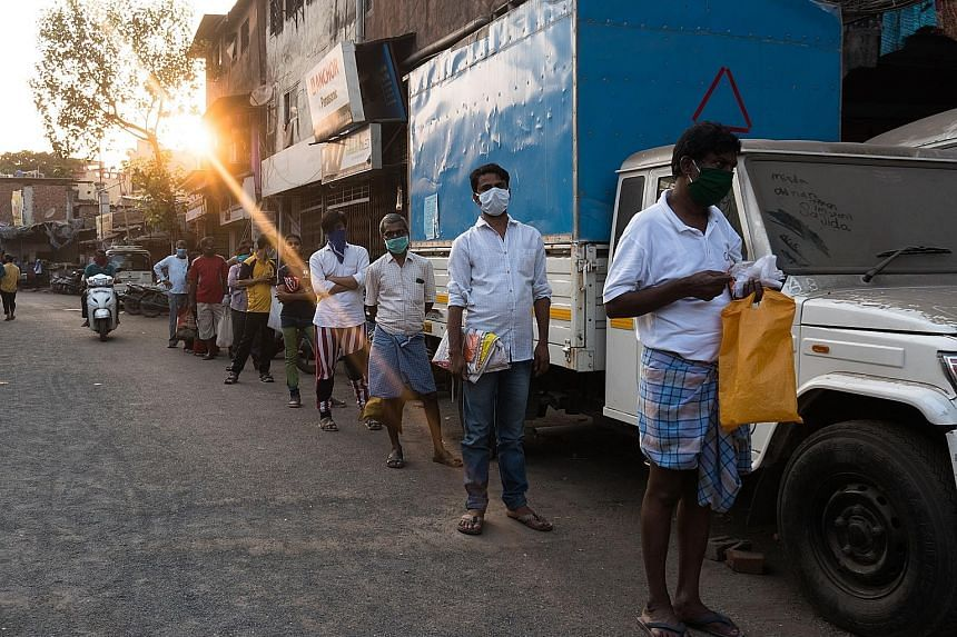 Government ration shops are providing essentials like food grains, pulses, sugar, tea leaves and kerosene fuel to the poor in India. The country is in lockdown to try and stem the spread of the coronavirus. Many feel the move, meant to promote social