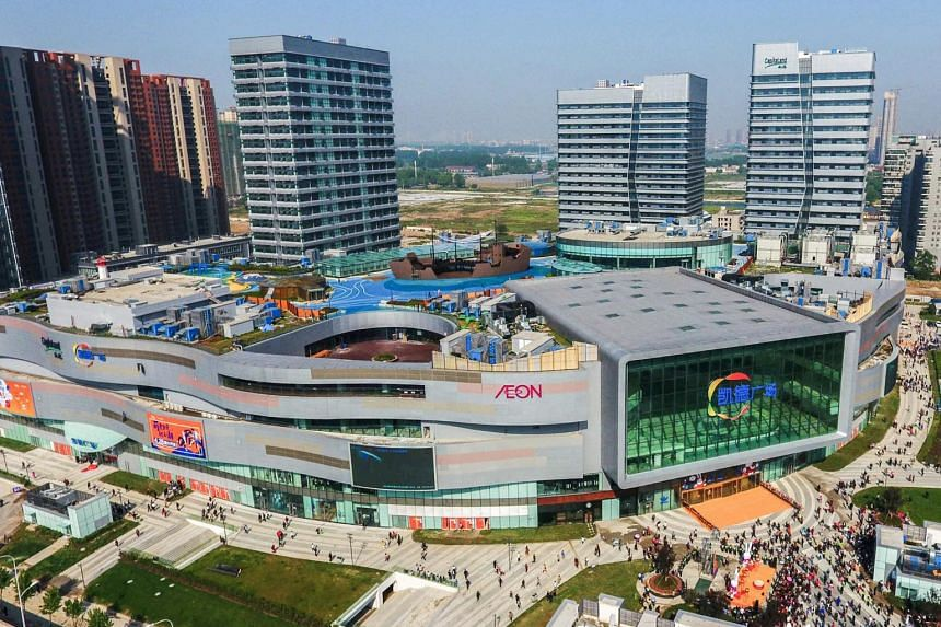 About 80 per cent of stores in CapitaLand's malls and business parks in China were in operation as at end-March.