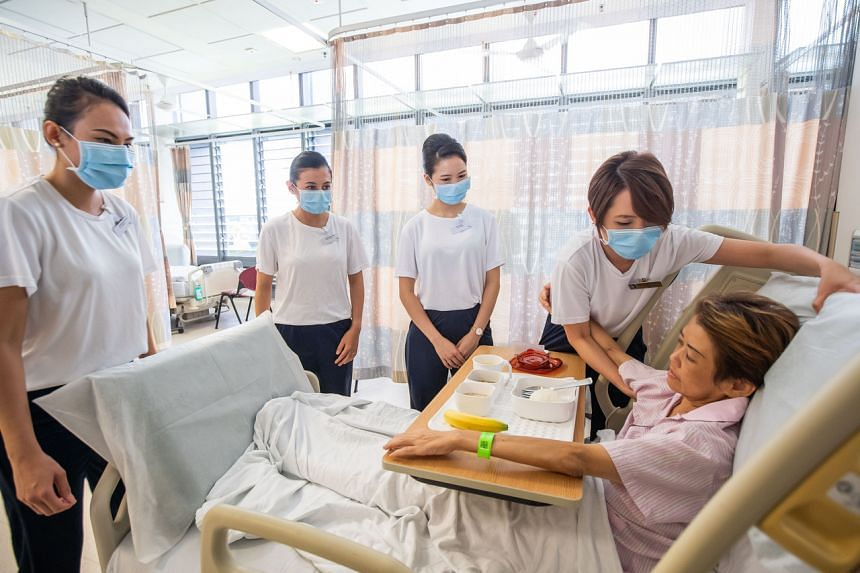 The cabin crew will be assigned to low-risk wards and support hospital care teams.