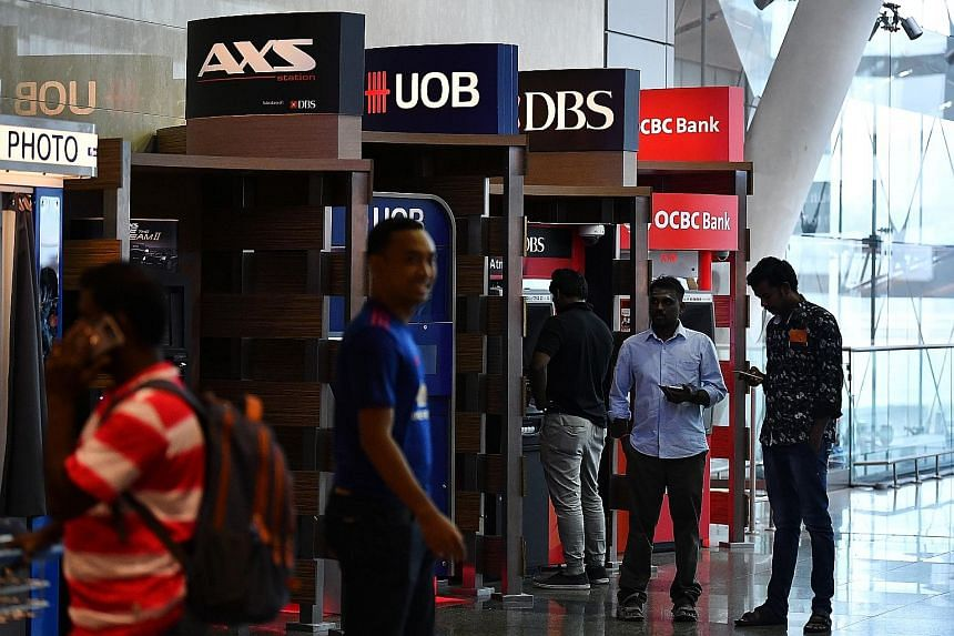 The authorities in Singapore have said all financial markets here will remain open and that payment services are unaffected. The branches that stay open must be well distributed across the country to adequately meet customers' needs. ATM services mus
