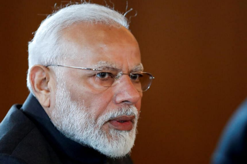 """India's PM Modi launched the """"PM Cares"""" fund for those affected by the coronavirus."""