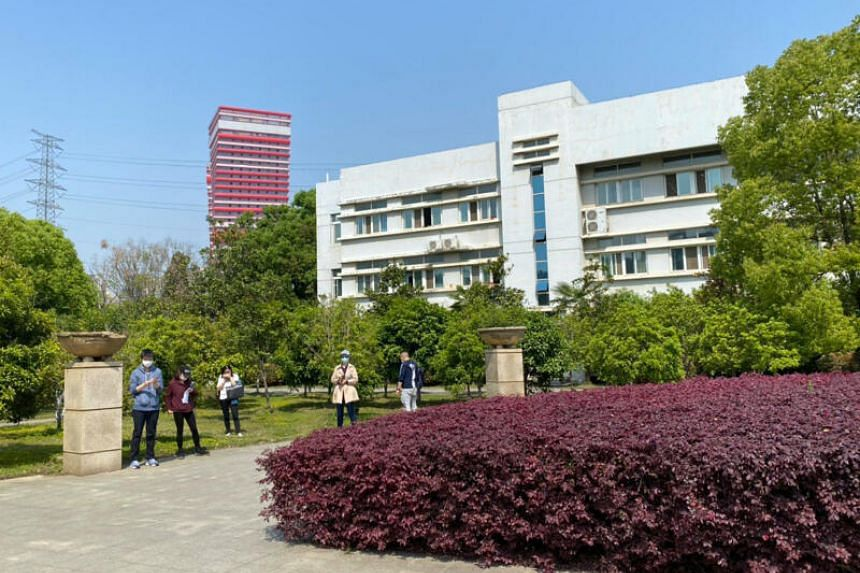 Jinyintan Hospital in Wuhan was treating close to 500 coronavirus patients at the height of the epidemic in the city.