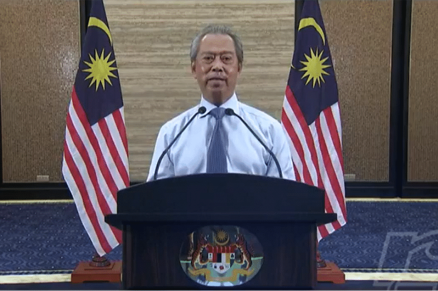 Malaysian Prime Minister Muhyiddin Yassin said the Movement Control Order will be extended from April 15 to April 28.