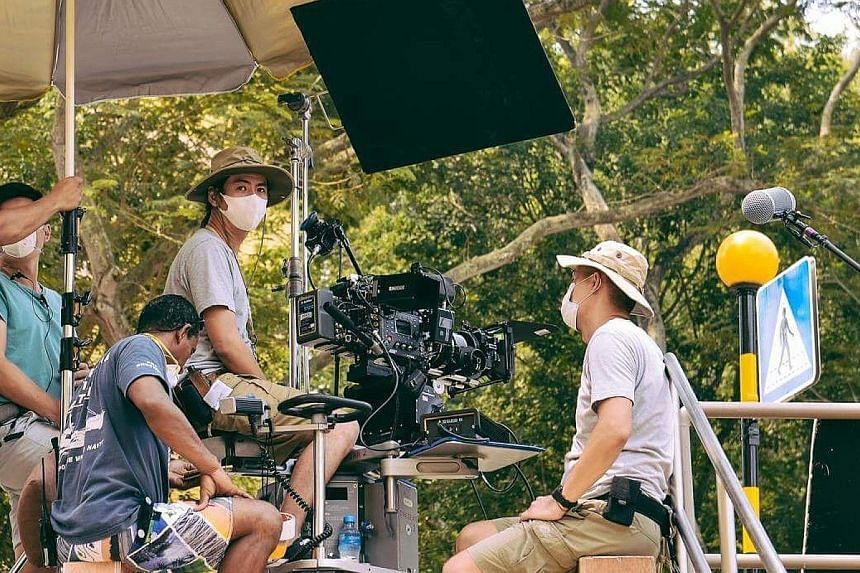 Those working in the local film and TV industry have been hit by the various measures to stem the spread of Covid-19, with a poll by the Singapore Association of Motion Picture Professionals finding that over 60 per cent of the industry's freelancers