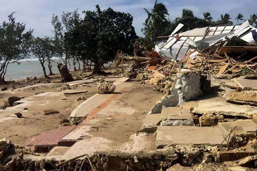 Cyclone Harold passed through the Solomon Islands, Vanuatu, Fiji and Tonga, cutting power and destroying holiday resorts.
