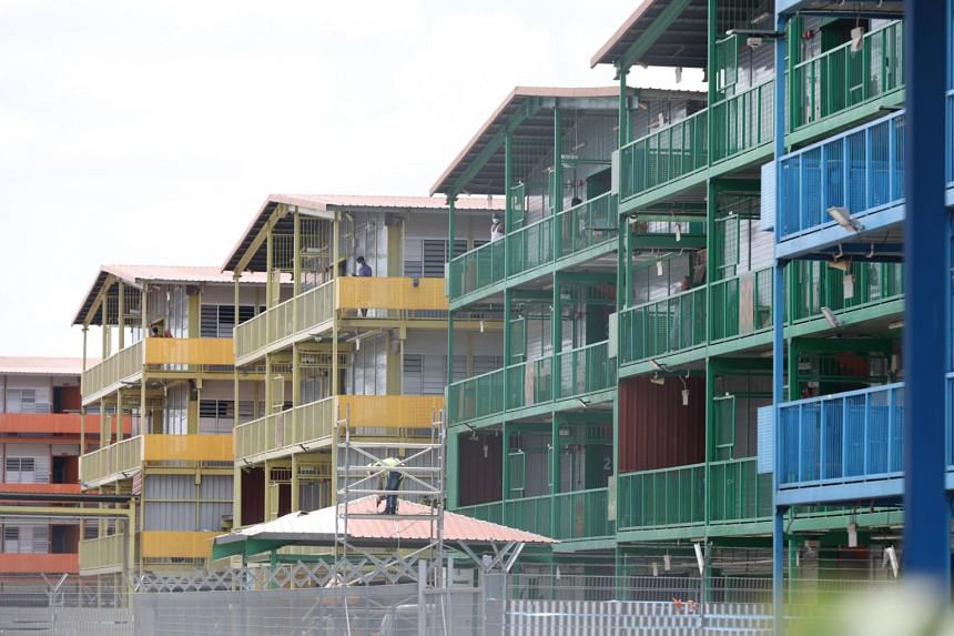 The S11 Dormitory @ Punggol is one of Singapore's largest clusters of Covid-19 cases so far.