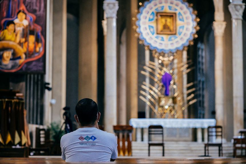 Celebrations of the Holy Week in the Philippines – the most sacred public holiday in the nation – have been muted and sombre.