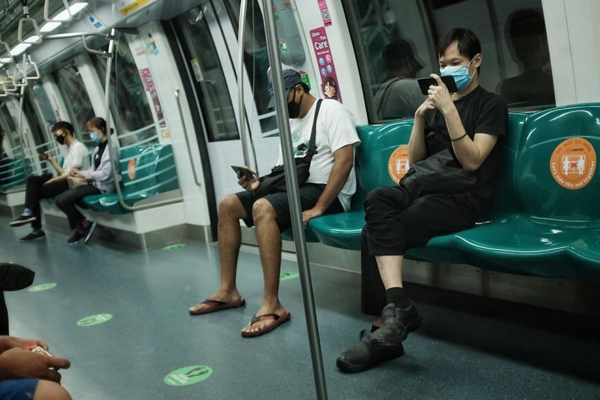 The authorities will get commuters to start wearing masks now when they are using public transport.