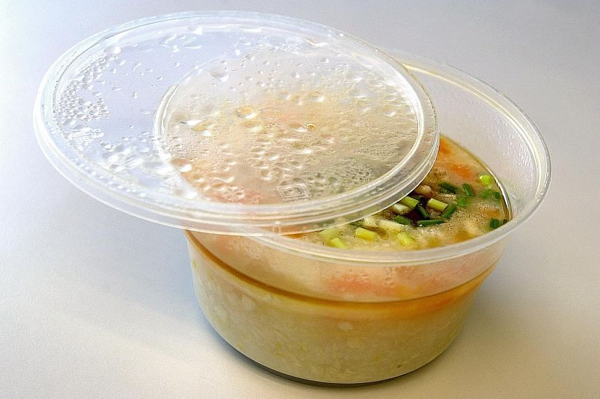 While demand for disposable food packaging has skyrocketed, some vendors are wary of customers' reusable containers harbouring the coronavirus.