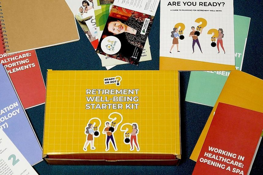 A retirement well-being starter kit, based on a person's interests and the skills he wants to pick up post-retirement, has been prepared by the student team.