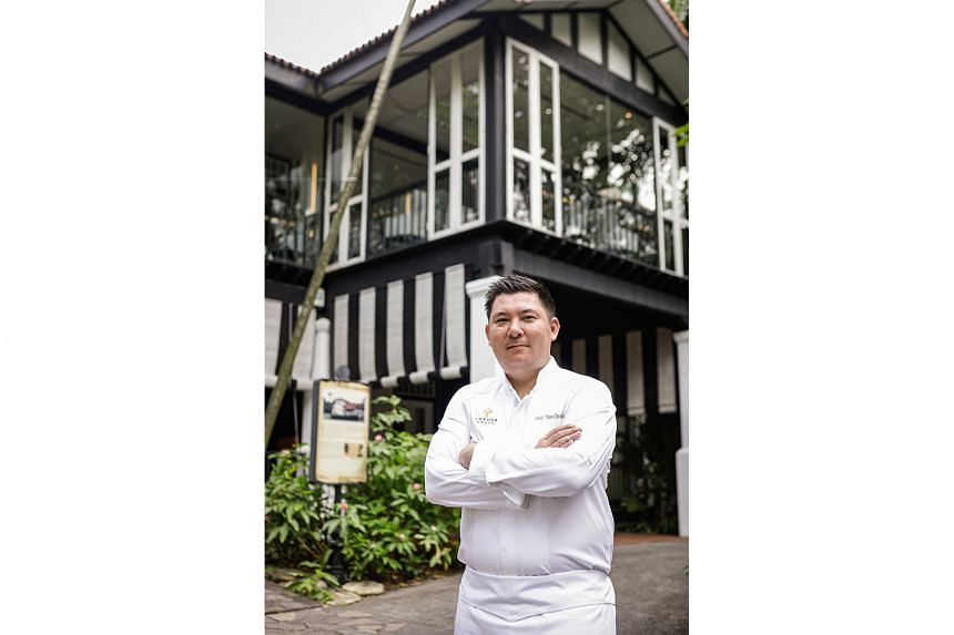 Corner House at the Singapore Botanic Gardens, helmed by new chef David Thien, decided against offering takeaways and deliveries as 'food sourcing has some limitations and challenges'.