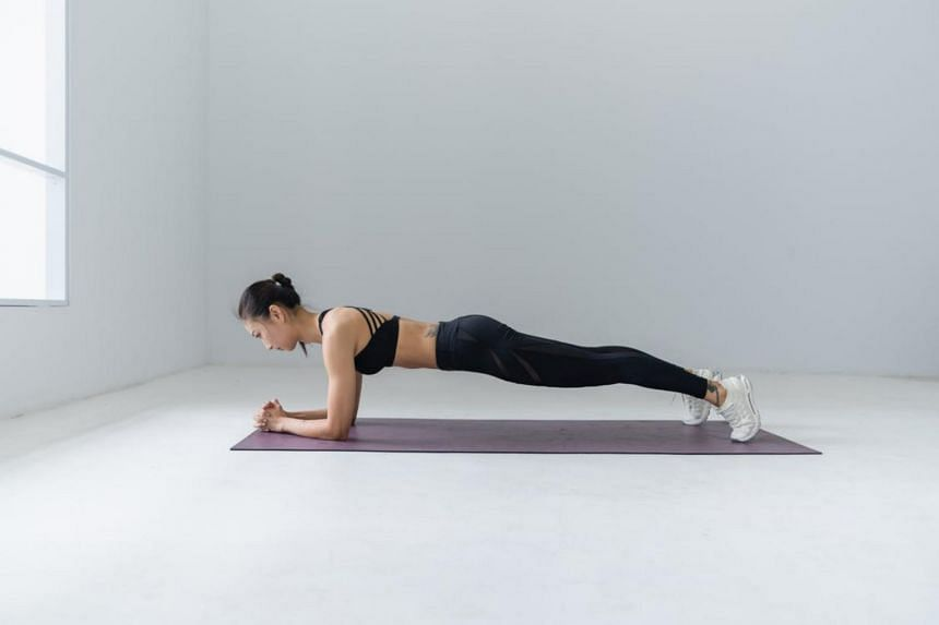 Keep fit at home with the hundreds of workouts available on fitness apps.