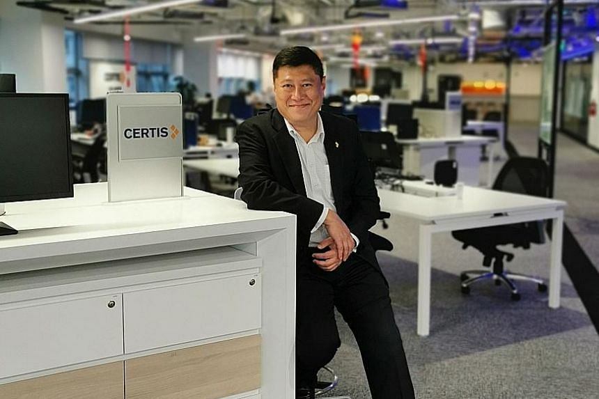 Certis chief digital officer Fuji Foo says the company has come a long way from just providing physical security services. The firm opened its Centre for Applied Intelligence in July last year, as it aims to integrate cutting-edge technology into its