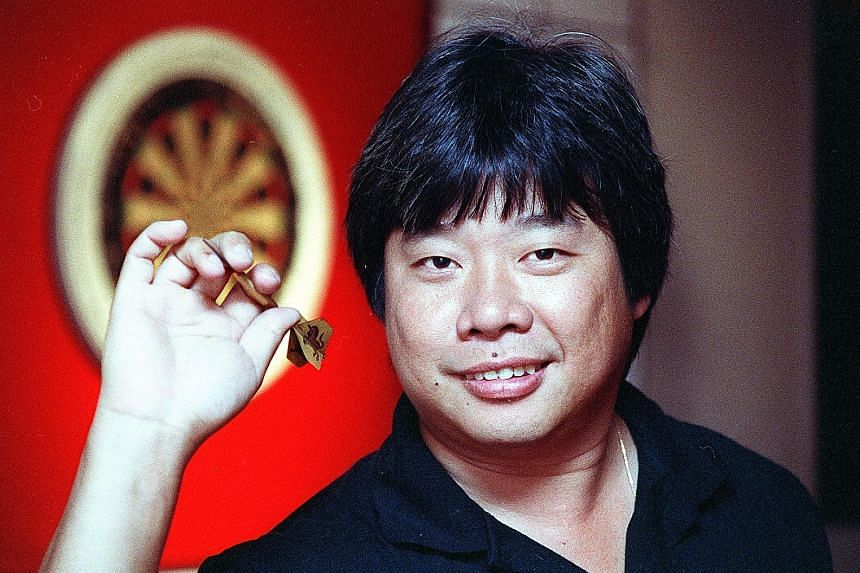 Paul Lim, born in Singapore, has been recognised for his perfect nine-dart finish at the world championship in 1990.