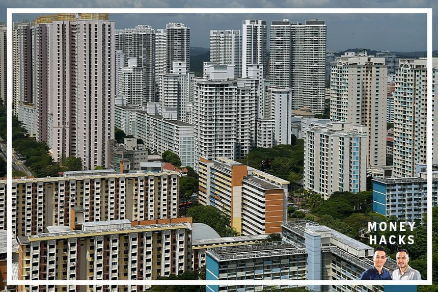 Public HDB and private housing flats seen here in Toa Payoh. In this Money Hacks podcast, we break down property trends for new homeowners in 2020.