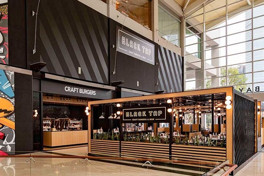 The new clusters include Black Tap at Marina Bay Sands.