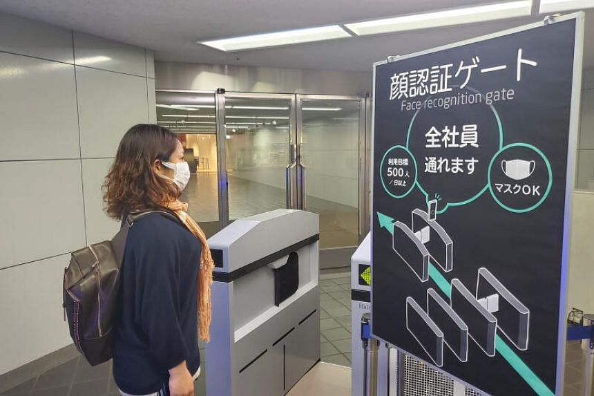 Japan's NEC is developing security checkpoints that can authenticate one's identity based on the exposed part of their face.