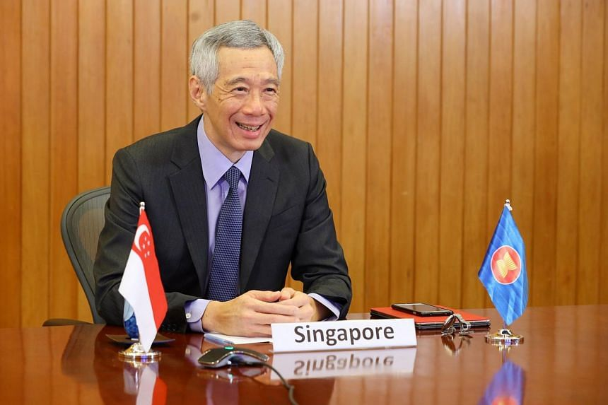Prime Minister Lee Hsien Loong stressed the importance of sharing information, given that what works in one country may be relevant for another.