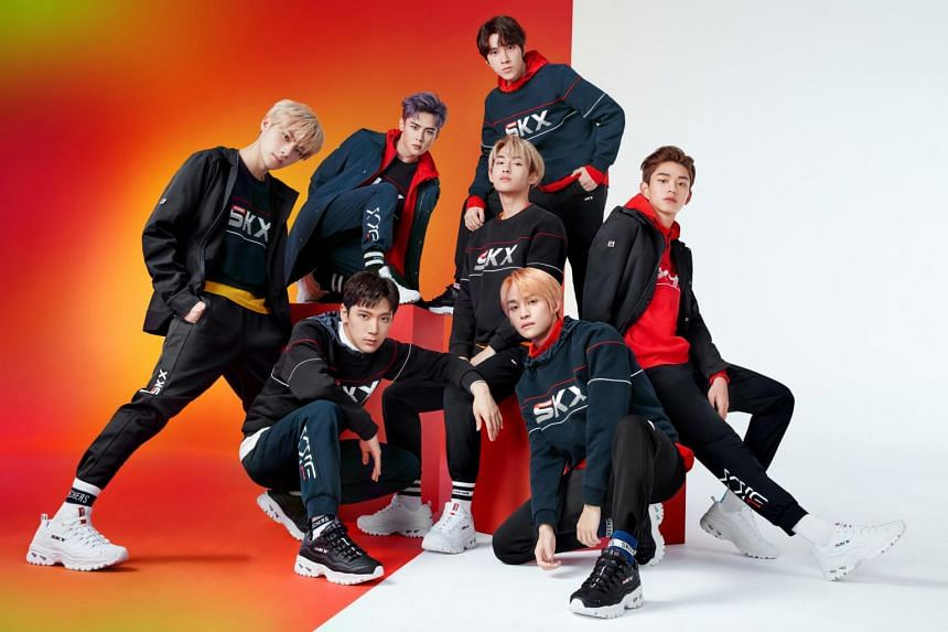 Chinese boy group WayV is the ambassador for Skechers' newly-launched Energy collection.