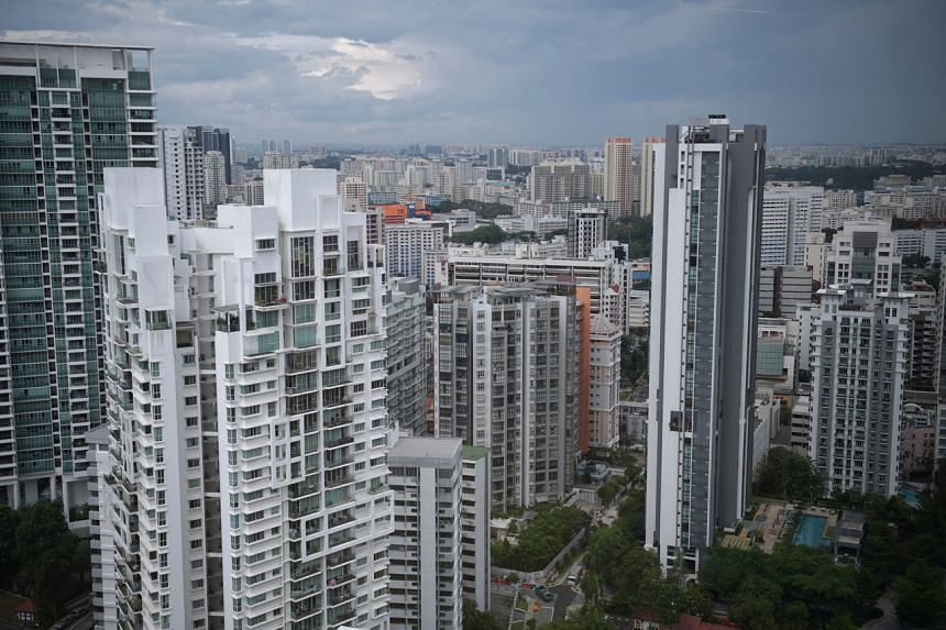 Year on year, the number of new private homes sold in March was down 37 per cent.