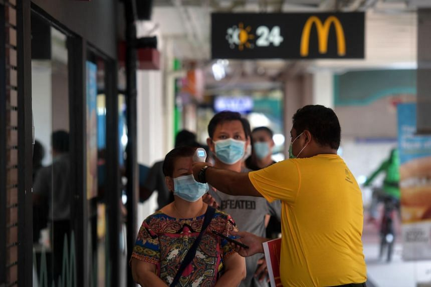 The number of coronavirus cases in Singapore has spiked over the past two weeks, crossing the 3,000 mark, on April 14, 2020.