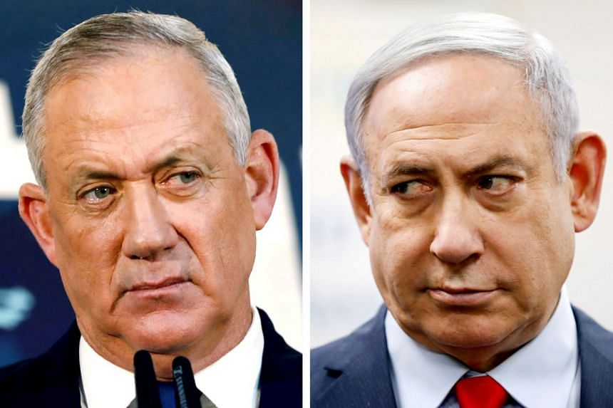 Israel's Netanyahu, Gantz face midnight deadline to form unity government